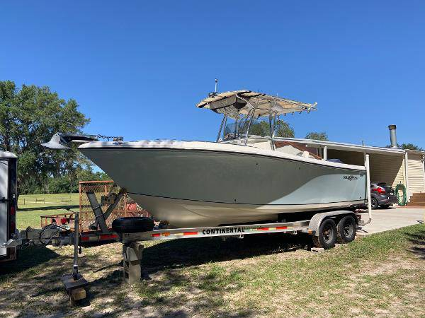 2006 sailfish center console 24' 572 - boats - by owner - marine sale