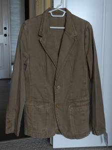 BRAND NEW W/ TAG!  ZARA 100% Cotton Spring/Summer Jacket/Blazer - Men for sale