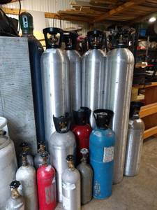 Used, 50 lb Full CO2 Tank (Lake Stevens) for sale  Seattle