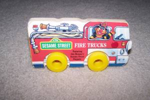 Sesame Street Fire Trucks Book (Ham Lake) for sale