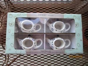 Used, Napkin Rings teapot shaped (Fraser) for sale  Detroit