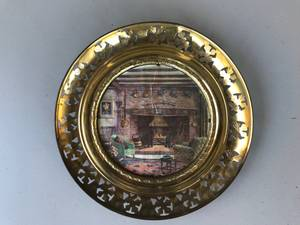 Vintage Brass Plates-Made in England (Paso Robles) $40