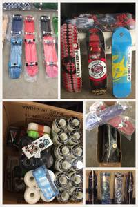 New professional skateboard trucks, wheels, bearings, decks and more. (Hollywood) for sale
