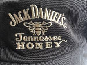 NEW JACK DANIELS BROWN EMBROIDERED TENNESSEE HONEY HATS (BURNSVILLE) for sale