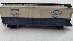 N Scale Parkway / Bachmann Mechanical Reefer..Nestle and Western Pacif (Westlake), used for sale  Detroit