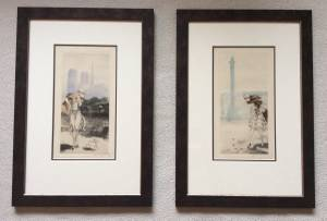 Two 1929 Louis Icart Etchings Take20%off (Surrey bc) for sale  Seattle