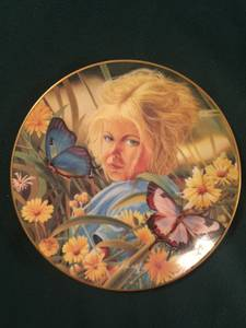 "Used, Hackett American collector's plate Special Moments ""April"" 1982 (Kenosha) for sale"