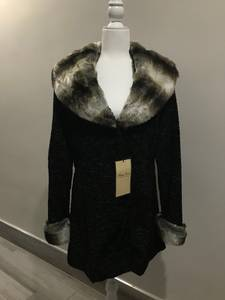 Terry Lewis Faux Fur Persian Lamb Jacket-NWT (Lower East Side) for sale