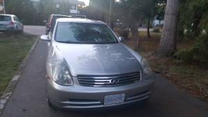 2003 Infiniti g35 sedan for parts (Langely) for sale  Vancouver