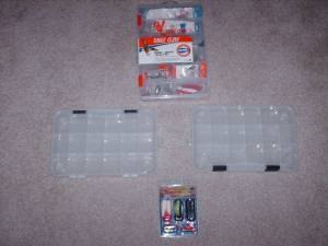 Eagle Claw Pier/Jetty Tackle 31 Pcs, 2 Bait Boxes & Coastal Saltwater (Tomball) for sale  Austin