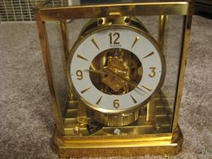 JAEGER Le Coultre  Atmos Perpetual Motion Clock 15 Jewels (Greenville) for sale