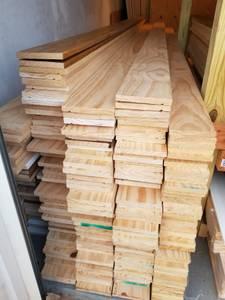 Premium solid pine 1x6 (Kennesaw) $6