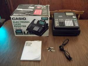 FOR SALVAGE OR REPAIR! Casio Electronic Cash Register PCR-T500 (South OKC) for sale