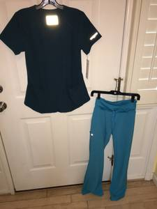 Used, Women's Small Top and Bottom Barco Nursing Scrubs (Fort Mill) for sale