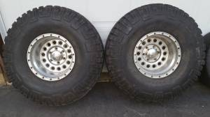REDUCED!! Set Goodyear Wrangler MT/R (+Kevlar) & Eagle Alloy Rims!, used for sale  Vancouver