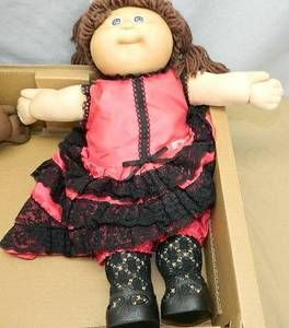 """1980's Cabbage Patch Kids World Travelers Spain 17"""" Doll (NORTH BRANCH) for sale"""