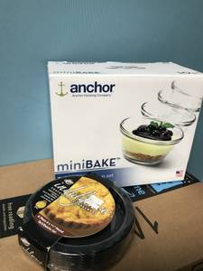 New in package! 10 pc Custard Set & 6 pc Round Tart/Quiche Set, used for sale