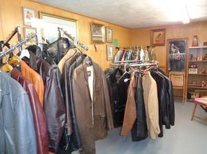 Ladies and Mens Leather coats and Jackets (plymouth WI) for sale