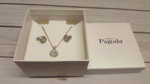 Piercing Pagoda Necklace and Earrings Set (Princeton) for sale