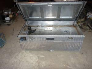 RDS 90-gal Alum Fuel Tank / Toolbox Combo (Lenox, MI) for sale