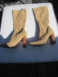 Women's Candies Saddle-Colored Boots (Hillcrest area), used for sale