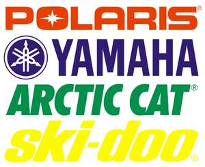 Snowmobile Registration Numbers for SkiDoo, Polaris, Artic Cat, Yamaha (Shakopee), used for sale