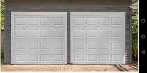 New garage door installed (Greater Grand Rapids area, Rockford, Greenville, Lowell, Ada) for sale