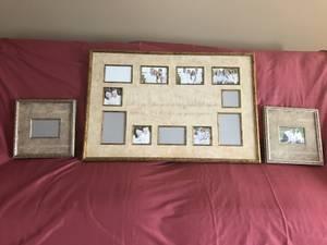 Collage Picture Frames Set: Live, Love, Laugh for sale